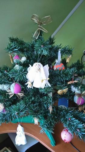stromcek s našimi ozdobami